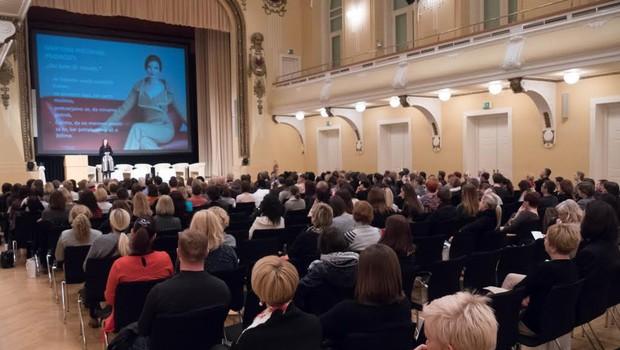 Po konferenci o ljubezni, partnerstvu in medsebojnih odnosih: Ljubezen od A do Ž! (foto: Dušan Tešanovič, Videomantik)