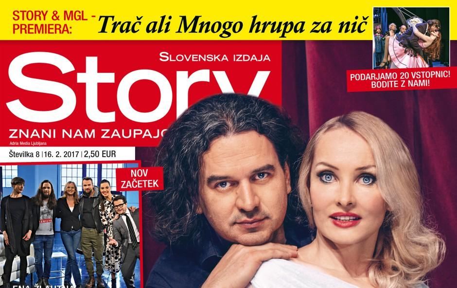 Tanja Ribič in Gašper Tič že dva meseca skupaj! Več v novi Story! (foto: story)