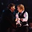 Ed Sheeran in Russell Crowe rada zvrneta skupaj kakšnega kratkega