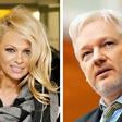 Pamela Anderson in Julian Assange se družita že štiri mesece