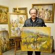 Alfi Nipič obožuje umetnost