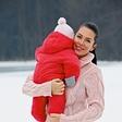 Poglejte, kako sta lepi Iris Mulej in njena hčerkica Isabella