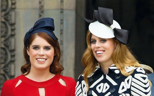 Kraljica Elizabeta velikokrat pozabi na princesi Beatrice in Eugenie