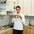 Peter Prevc se v kuhinji odlično znajde
