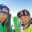 Jernej Tozon je užival v francoskih Alpah