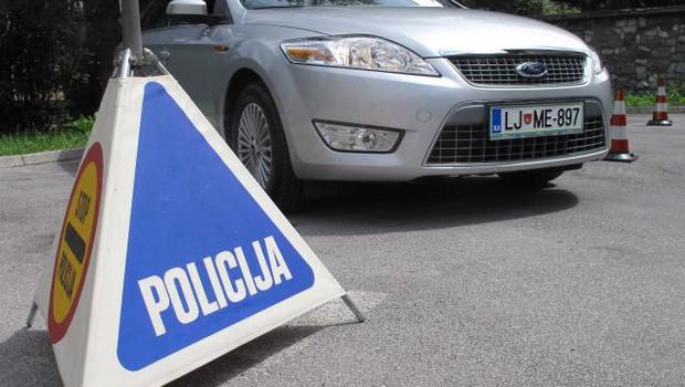 Policija ta teden poostreno nad prehitre voznike (foto: STA)