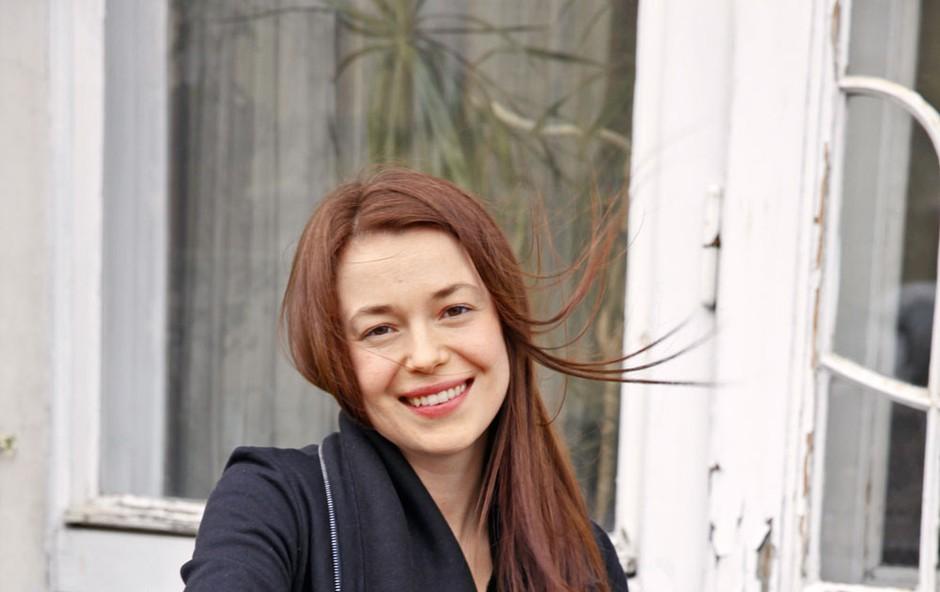 Nina Ivanišin: Odlično se počuti  v igralskem poklicu (foto: Helena Kermelj)
