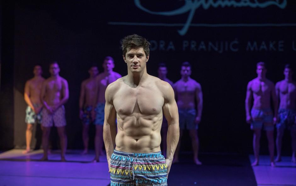 Na izboru pokazal vroče telo tudi tekmovalec Survivorja (foto: Luka Brataševec)