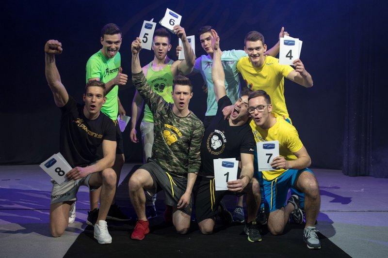Finalisti Mister Slovenija 2017