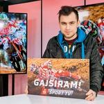 Gajsiramo na Šport TV: Akcija povezala mnogo znanih obrazov (foto: Tadej Tinev)