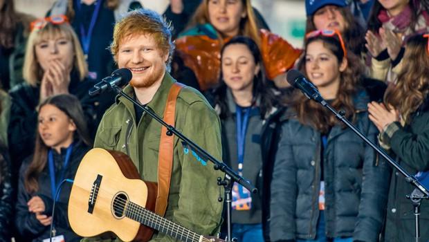 Ed Sheeran: Z novim albumom podira vse rekorde (foto: profimedia)