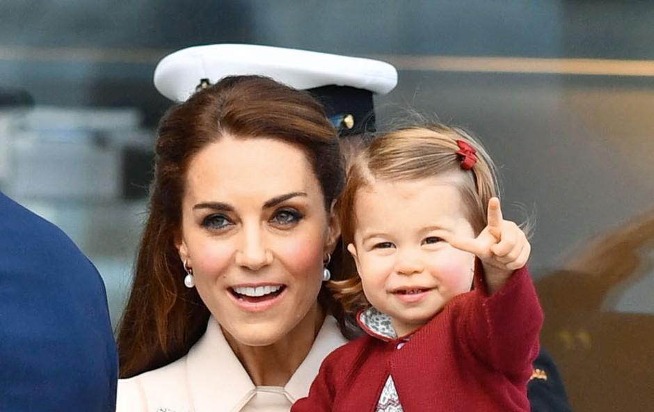 Princeska Charlotte dobro ve, kaj ji je všeč (foto: profimedia)