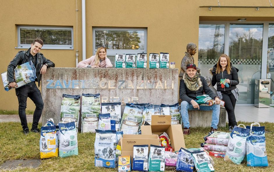 Znani Slovenci z dobrimi deli pomagajo živalim (foto: Nejc Fon)