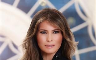 Uradni portret prve dame Melanie Trump že buri duhove!