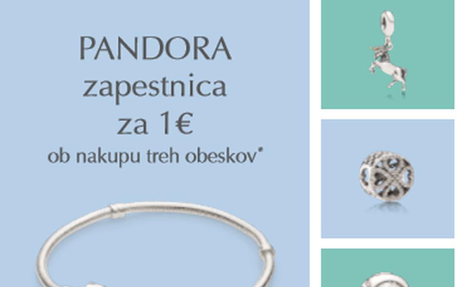 Akcija: Zapestnice Pandora že za 1 euro (foto: Promo)