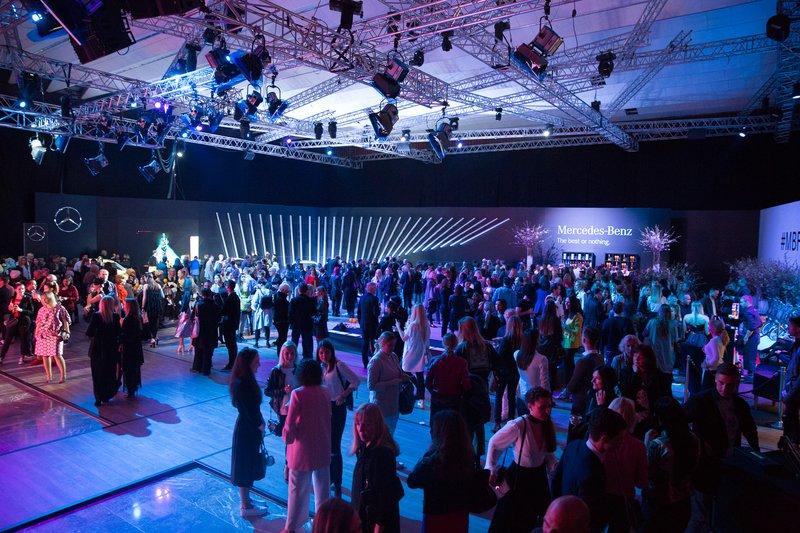 Otvoritveni dan na Mercedes-Benz Fashion Week Ljubljana