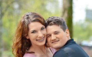 Karin Lazar in Urban Žertek (Televizijska poroka): Šesti par, ki se bo  poročil  pred  kamerami