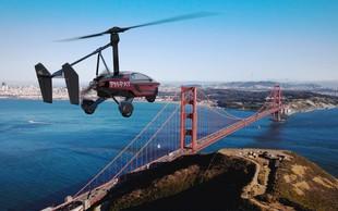 Leteči avtomobili niso več samo znanstvena fantastika