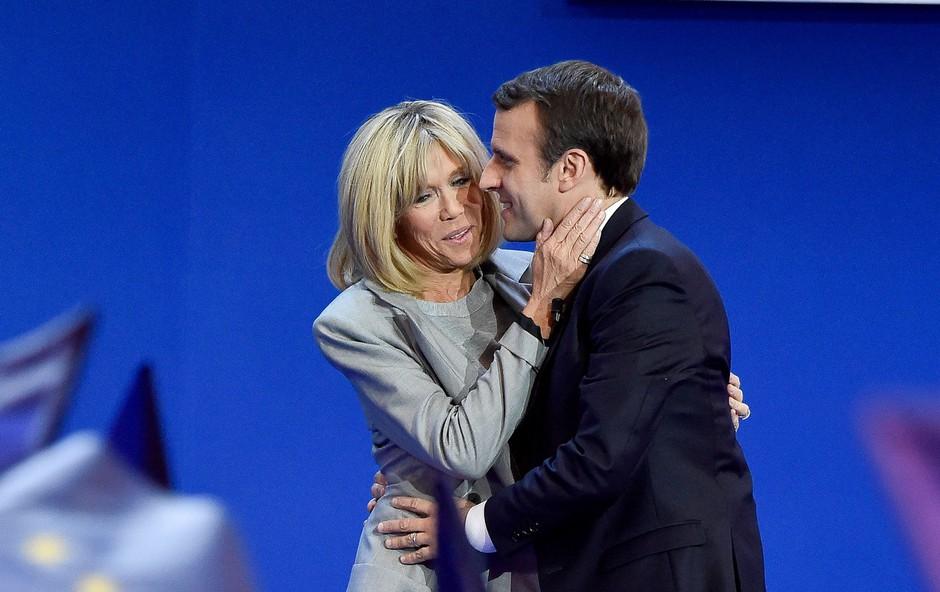 Macron obžaluje žaljivke brazilskega predsednika na račun njegove žene (foto: profimedia)