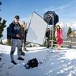 Slikanje za Playboy - gola slovenka na Veliki planini!