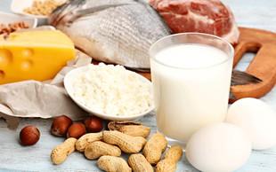 Kako zaužiti ravno prav beljakovin? Kaj je premalo in koliko je preveč?