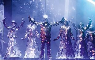 The Mirror Family s svojimi kostumi navdušili v Celju