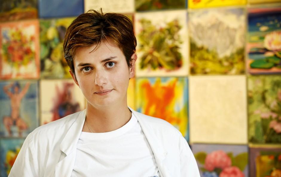 Sanela Banović: Superživilo, ki ga promovira, je dobra beseda (foto: Igor Zaplatil)