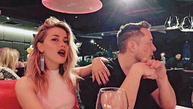 Amber Heard in Elon Musk: Bosta končno  našla srečo v ljubezni? (foto: Profimedia)
