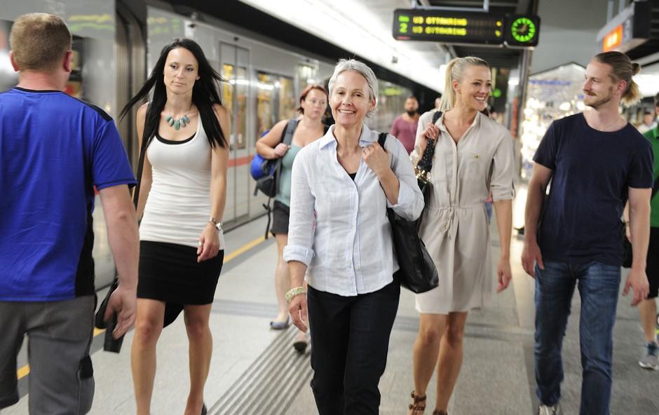 Dunajska podzemna železnica kot odskočna deska za mlade glasbenike (foto: Johannes Zinner)