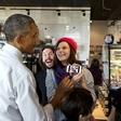 Obama je kot predsednik živel v 'prijaznem' zaporu, zdaj pa je ujetnik selfijev!