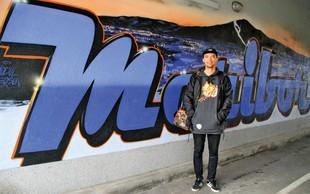 Teo Teoson Ivančič, grafitar: Iz ilegale v biznis