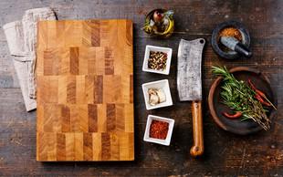 Pravilno čiščenje in nega lesene deske za rezanje