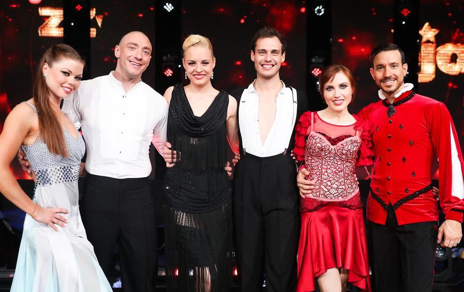 Finalisti plesnega spektakla Zvezde plešejo so... (foto: pop tv)