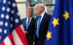 """Trump naj bi po poročanju Spiegla rekel: """"Nemci so slabi, zelo slabi!"""""""