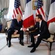 """Emmanuel Macron: """"Stisk roke s Trumpom ni bil nedolžen. Šlo je za trenutek resnice!"""""""