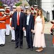 Barron Trump se z mamo Melanio seli v Washington