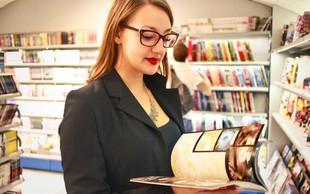V slovenske splošne knjižnice vpisanih skoraj pol milijona prebivalcev