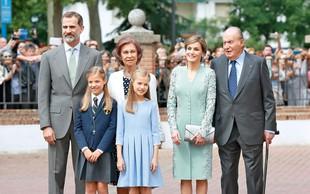 Španija: Princesa Sofia prejela prvo sveto obhajilo