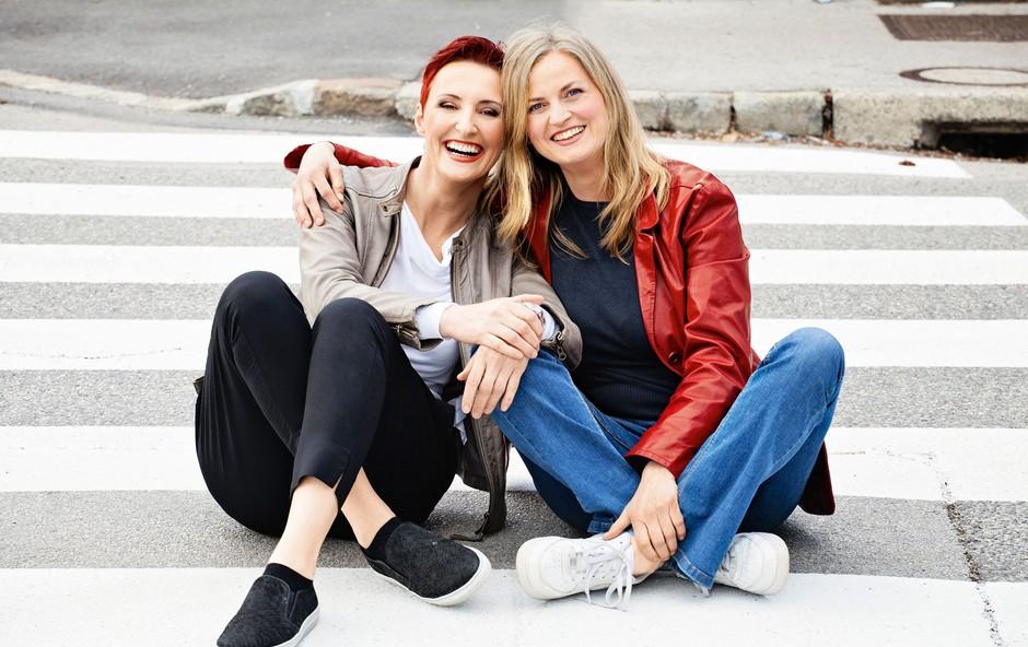 Lucija Ćirović in Alenka Kozolc Gregurić: Vsestranski dami (foto: Aleksandra Saša Prelesnik)