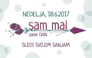 3. 'Sam mal zame dan' tokrat v Podgradu pri Ljubljani