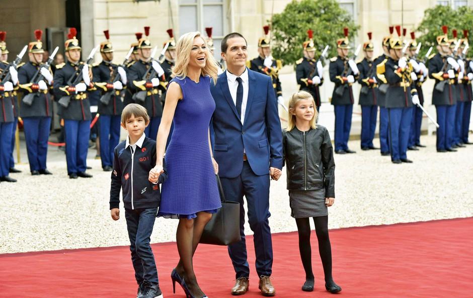 Emmanuel in Brigitte Macron: V slogu Romea in Julie (foto: Profimedia)