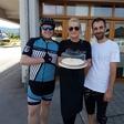 Miha Deželak s ponyem po Sloveniji