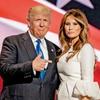 Ameriški predsednik Donald Trump s 23 let mlajšo soprogo Melanio.