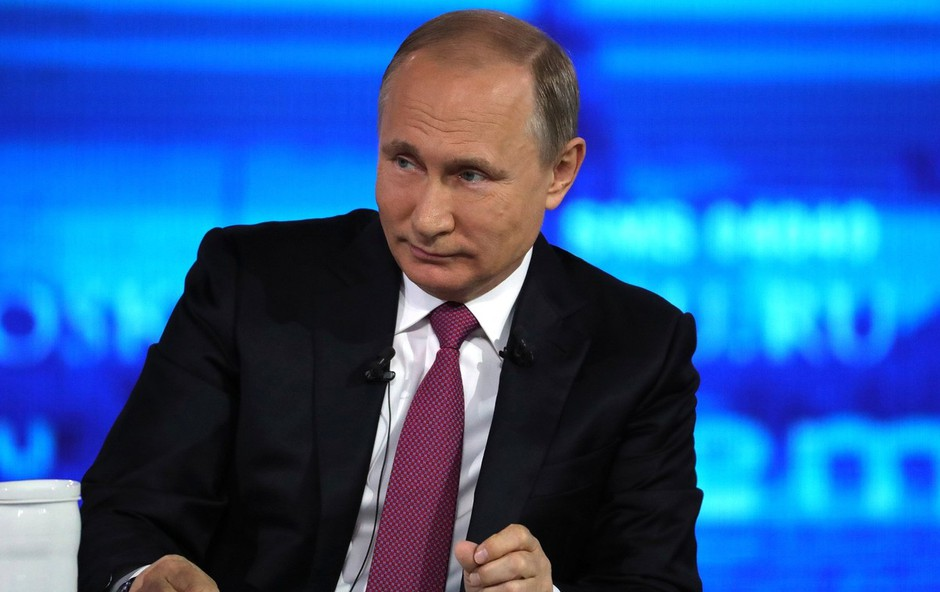 Putin se je pohvalil, da je dobil drugega vnuka (foto: profimedia)