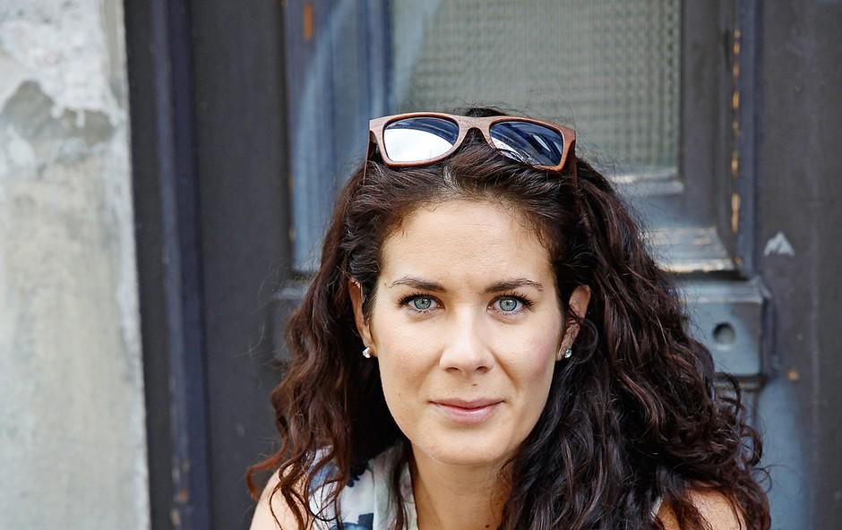 Ivjana Banić o ritmu družinskega življenja (foto: Helena Kermelj, osebni arhiv)