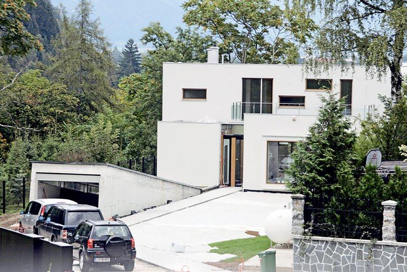 vila Koširjevih, Bled