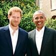 Princ Harry se je srečal z Obamo