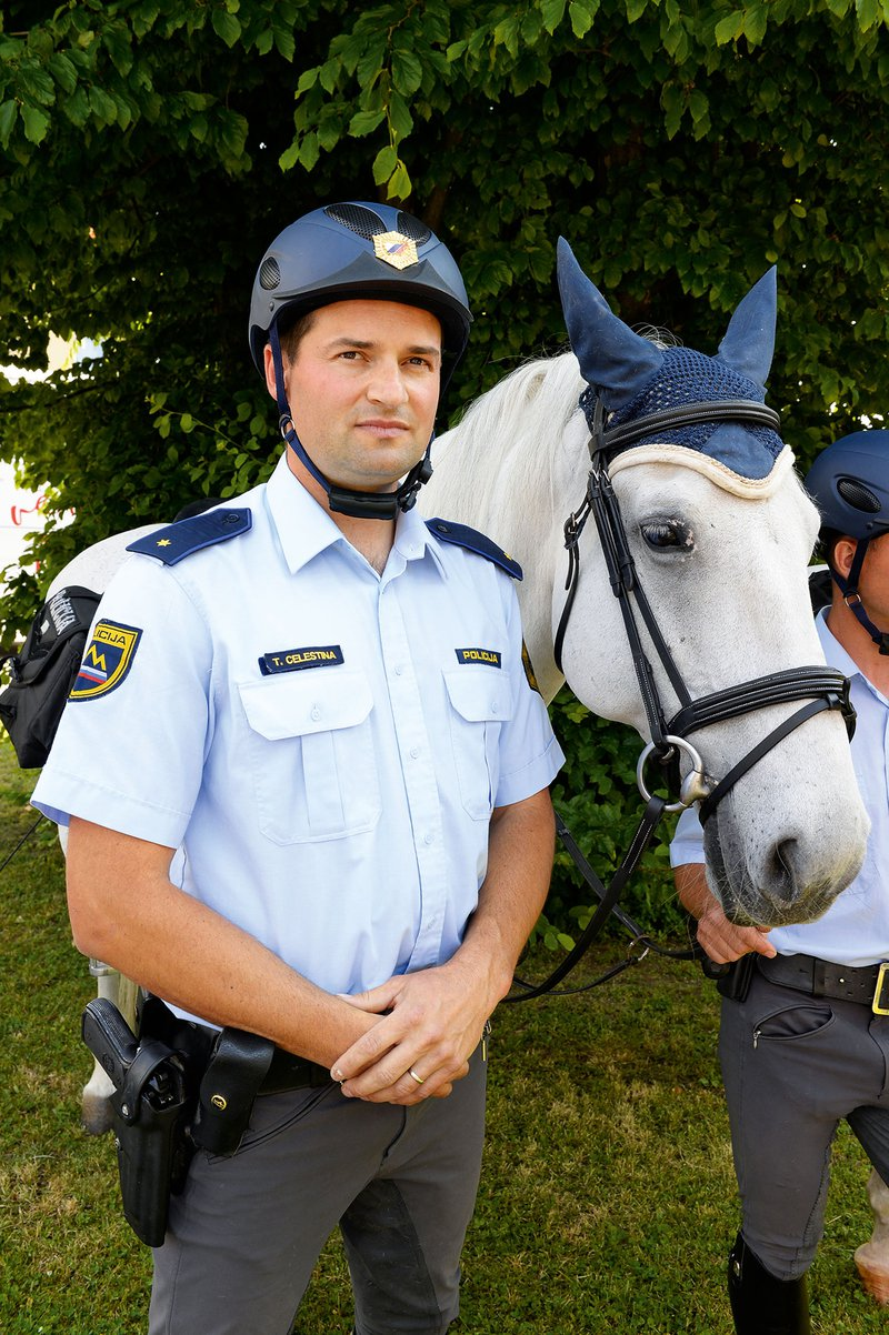 policist Celestina, krvodajalec