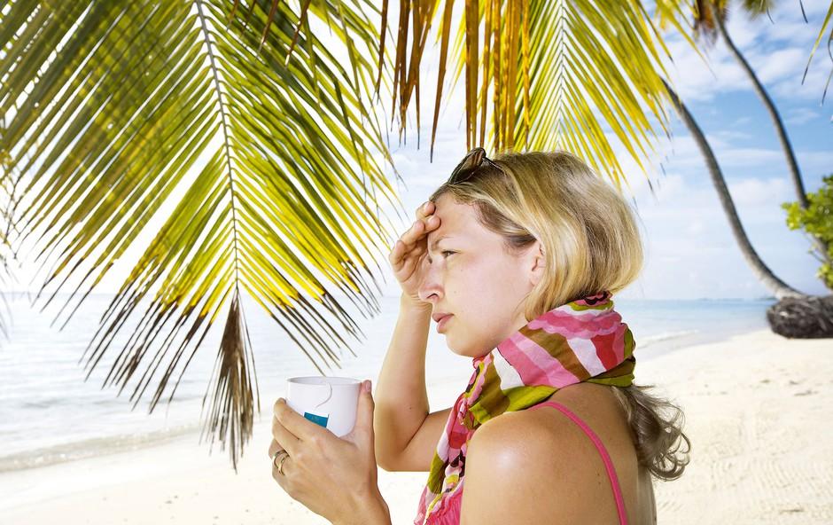 Zakaj na dopustu pogosto zbolimo? Preverite razloge! (foto: Shutterstock)