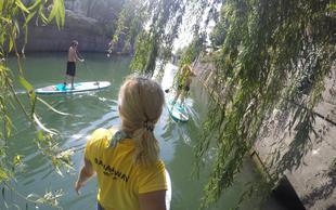 Bananaway vabi: 100 supov na Ljubljanici za čisto reko!